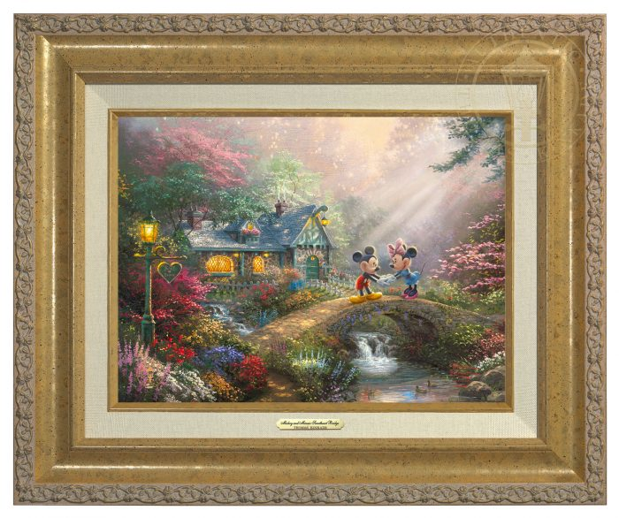 Disney Mickey and Minnie – Sweetheart Bridge – Canvas Classics