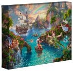 Peter Pan's Never Land – 8″ x 10″ Gallery Wrapped Canvas
