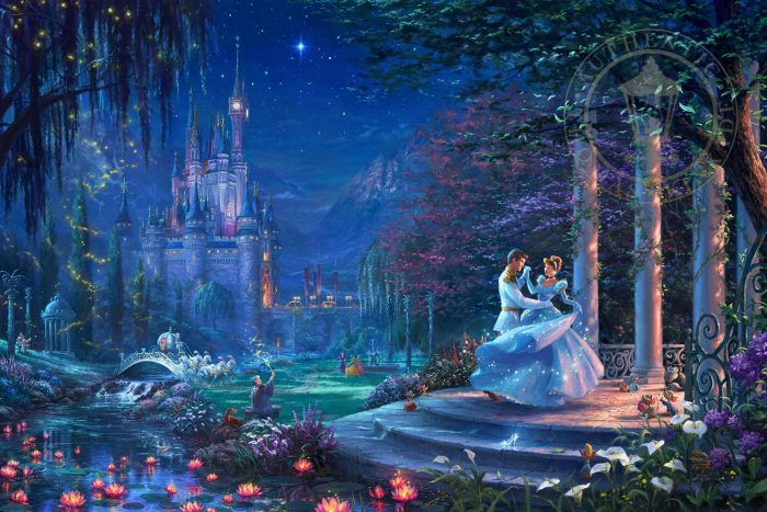 Cinderella Dancing in the Starlight – Limited Edition Canvas