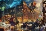 The Dark Knight Saves Gotham City, The – Limited Edition Canvas
