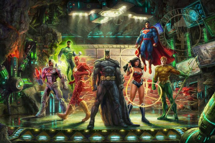 Justice League, The – Limited Edition Art