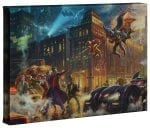 The Dark Knight Saves Gotham City – 10″ x 14″ Gallery Wrapped Canvas