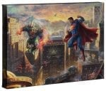 Superman – Man of Steel – 10″ x 14″ Gallery Wrapped Canvas