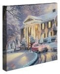 Graceland® Christmas – 14″ x 14″ Gallery Wrapped Canvas (Frameless)