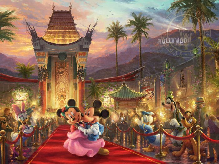 Mickey and Minnie in Hollywood – Limited Edition Canvas