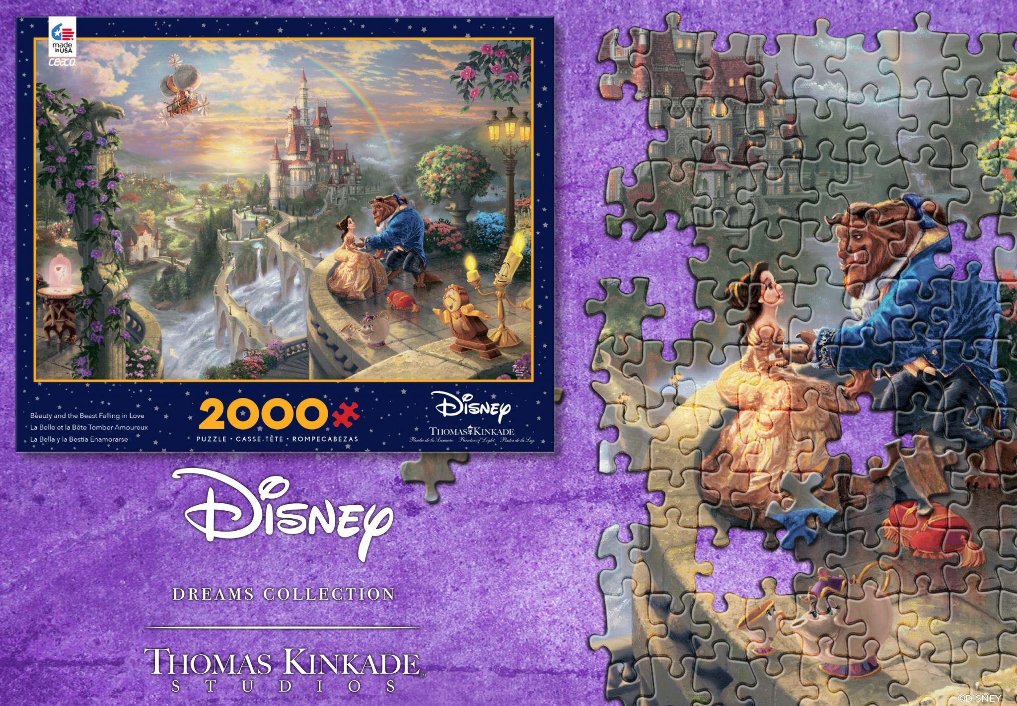 Announcing The Beauty And The Beast Puzzle Giveaway Winner The