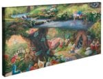 Disney Alice in Wonderland – 16″ x 31″ Gallery Wrapped Canvas