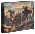 Superman: Man Of Steel   – 8″ x 10″ Gallery Wrapped Canvas