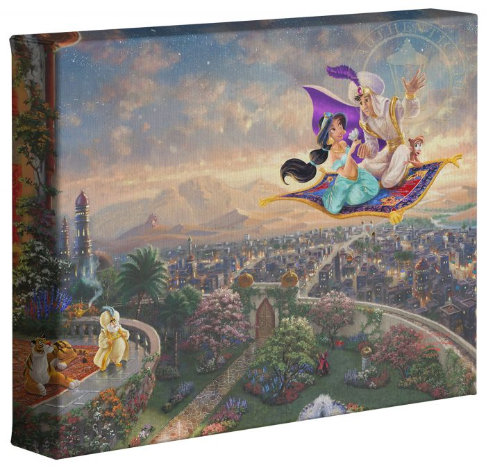 Aladdin – 8″ x 10″ Gallery Wrapped Canvas