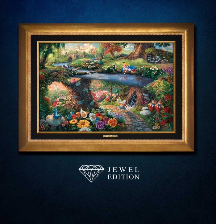 Disney Alice in Wonderland – Jewel Edition Art
