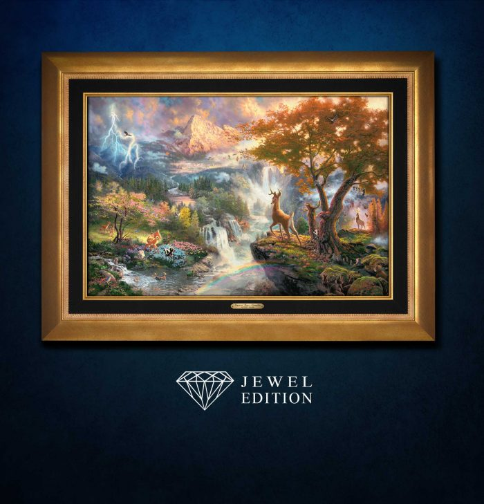 Bambi's First Year – Jewel Edition Art