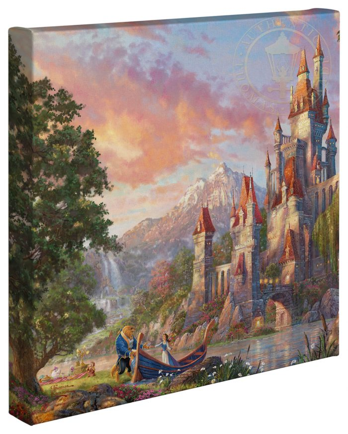 Beauty and the Beast II – 14″ x 14″ Gallery Wrapped Canvas