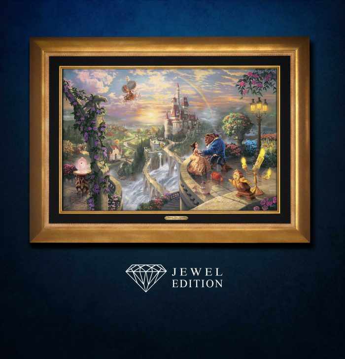 Beauty and the Beast Falling in Love – Jewel Edition Art