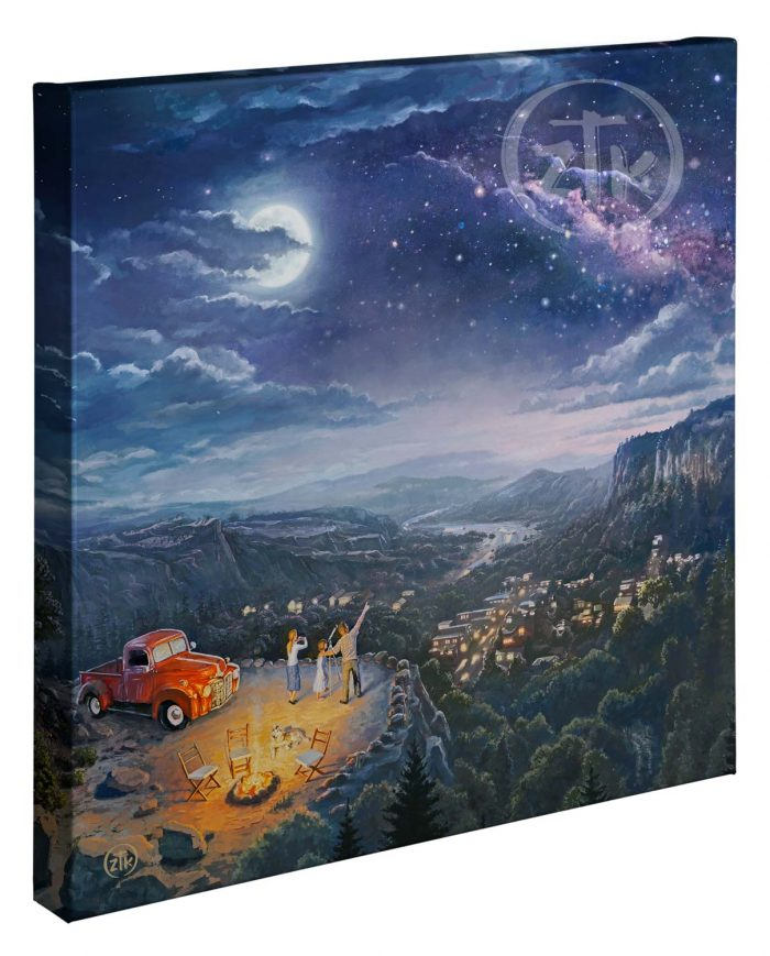Beyond the Farthest Star 20″x20″ Gallery Wrapped Canvas