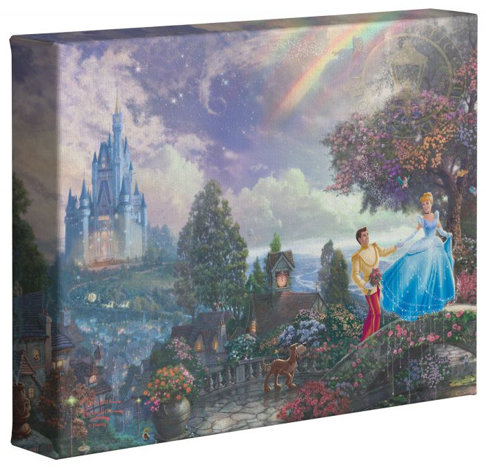 Cinderella Wishes Upon A Dream – 8″ x 10″ Gallery Wrapped Canvas