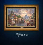 Main Street, U.S.A.® Walt Disney World® Resort – Jewel Edition Art