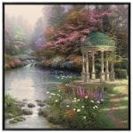 The Garden of Prayer – 36″ x 36″ Framed Canvas Wall Murals