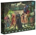 The Justice League   – 8″ x 10″ Gallery Wrapped Canvas