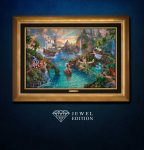 Disney Peter Pan's Never Land – Jewel Edition Art