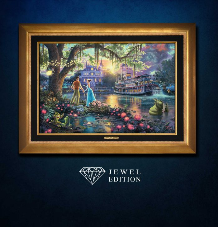 Princess and the Frog, The – Jewel Edition Art