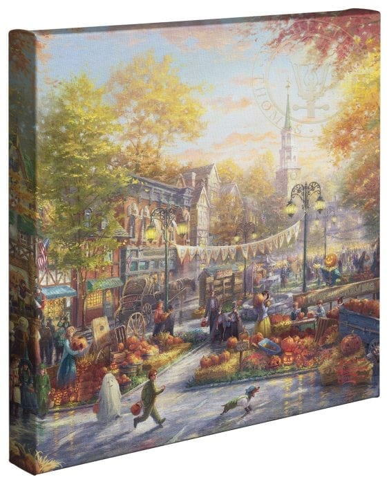 The Pumpkin Festival – 14″ x 14″ Gallery Wrapped Canvas