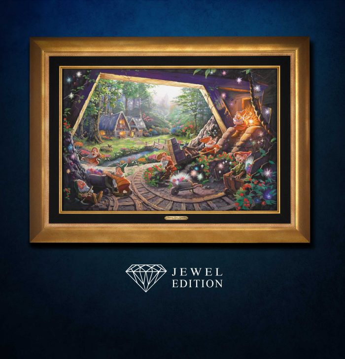 Snow White and the Seven Dwarfs – Jewel Edition Art