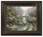 Stillwater Bridge – 16″ x 20″ Brushstroke Vignette (Rich Burl Frame)