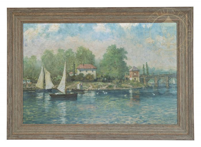 Summer's Morning, A – Impressions (Brittany Sage Green Frame)