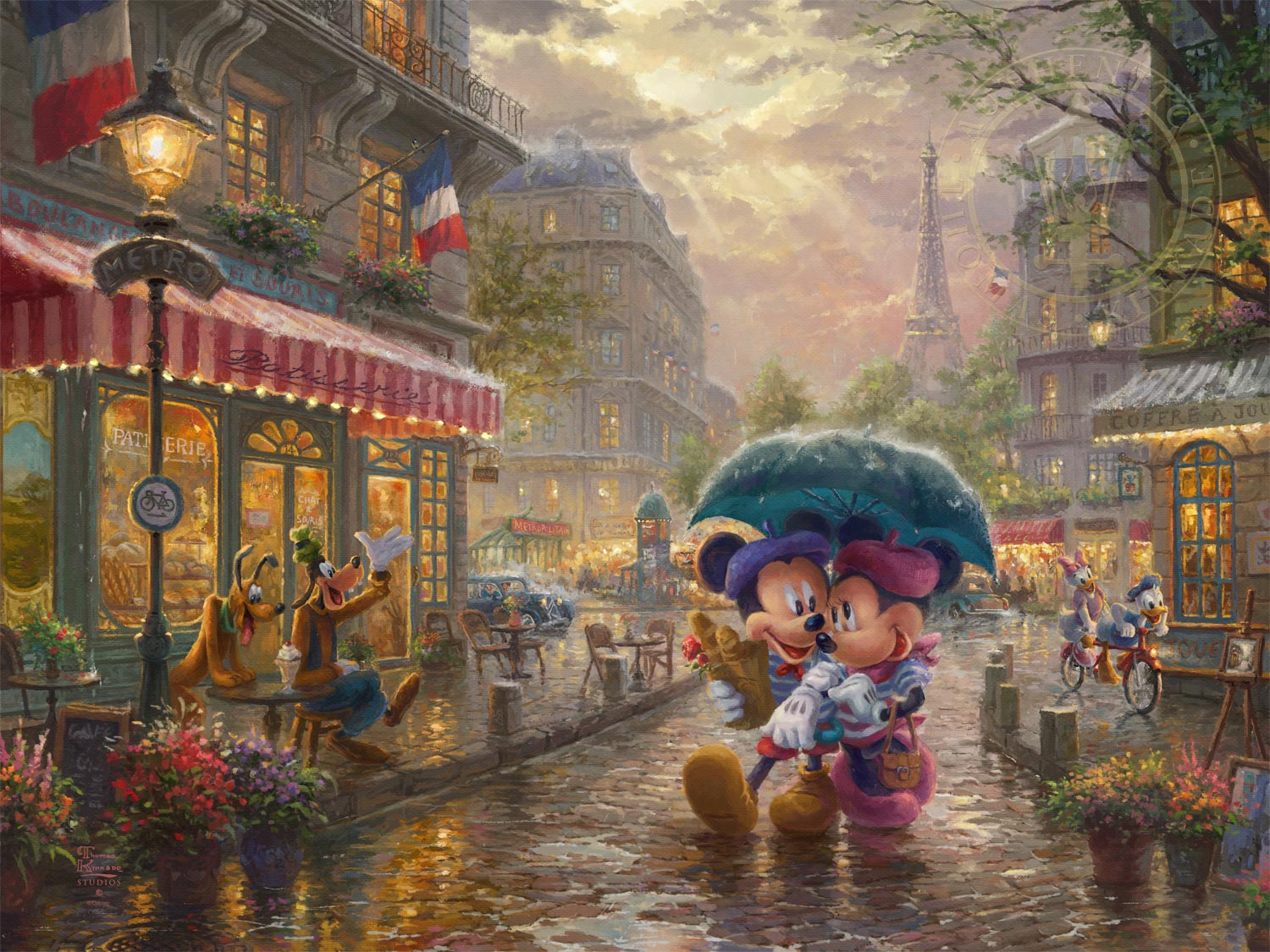 Disney Oil Painting