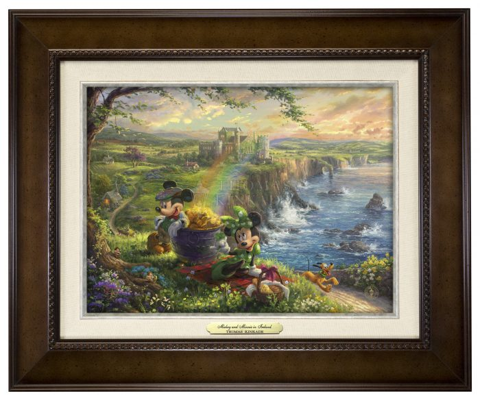 Mickey and Minnie in Ireland – Canvas Classics