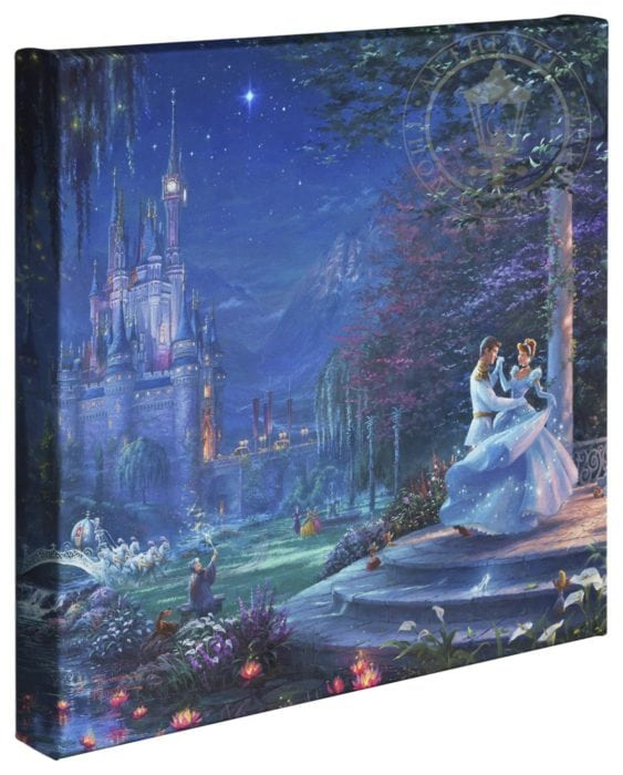 Cinderella Dancing in the Starlight – 14″ x 14″ Gallery Wrapped Canvas