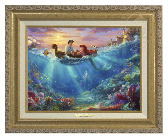 Little Mermaid Falling in Love – Canvas Classics
