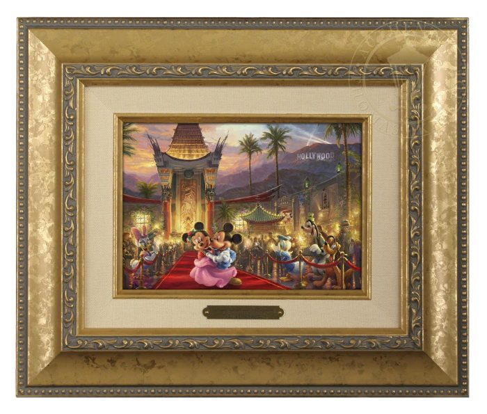 Mickey and Minnie in Hollywood – Brushworks