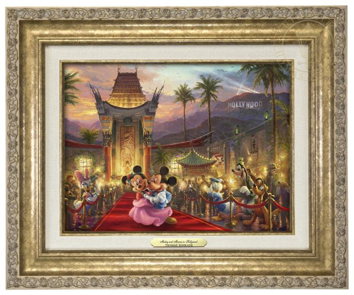 Mickey and Minnie in Hollywood – Canvas Classics