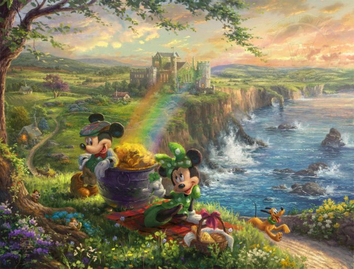 Mickey and Minnie in Ireland – Limited Edition Art