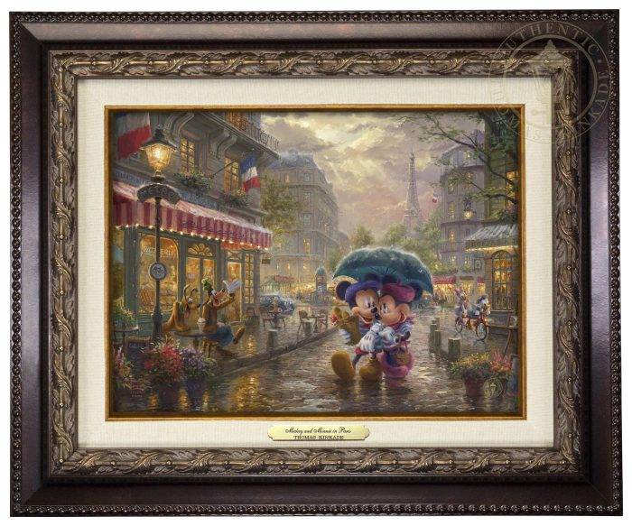 Mickey and Minnie in Paris – Canvas Classics