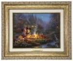 Mickey and Minnie – Sweetheart Campfire – Canvas Classics