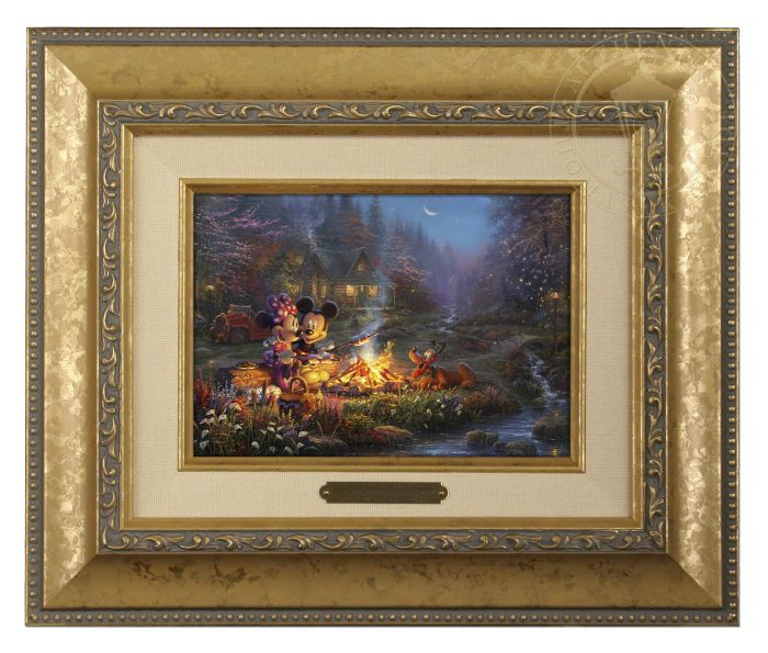 Mickey and Minnie – Sweetheart Campfire – Brushworks