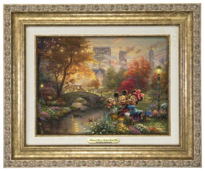 Mickey and Minnie – Sweetheart Central Park – Canvas Classics