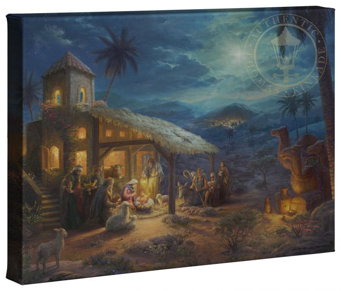 The Nativity  – 10″ x 14″ Gallery Wrapped Canvas