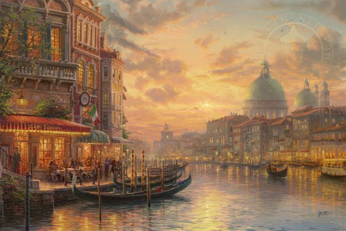 Venetian Café – Limited Edition Art