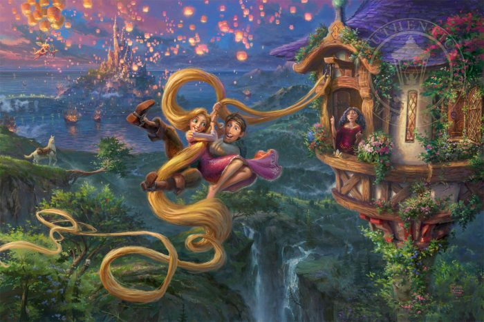 Tangled Up In Love – Limited Edition Canvas