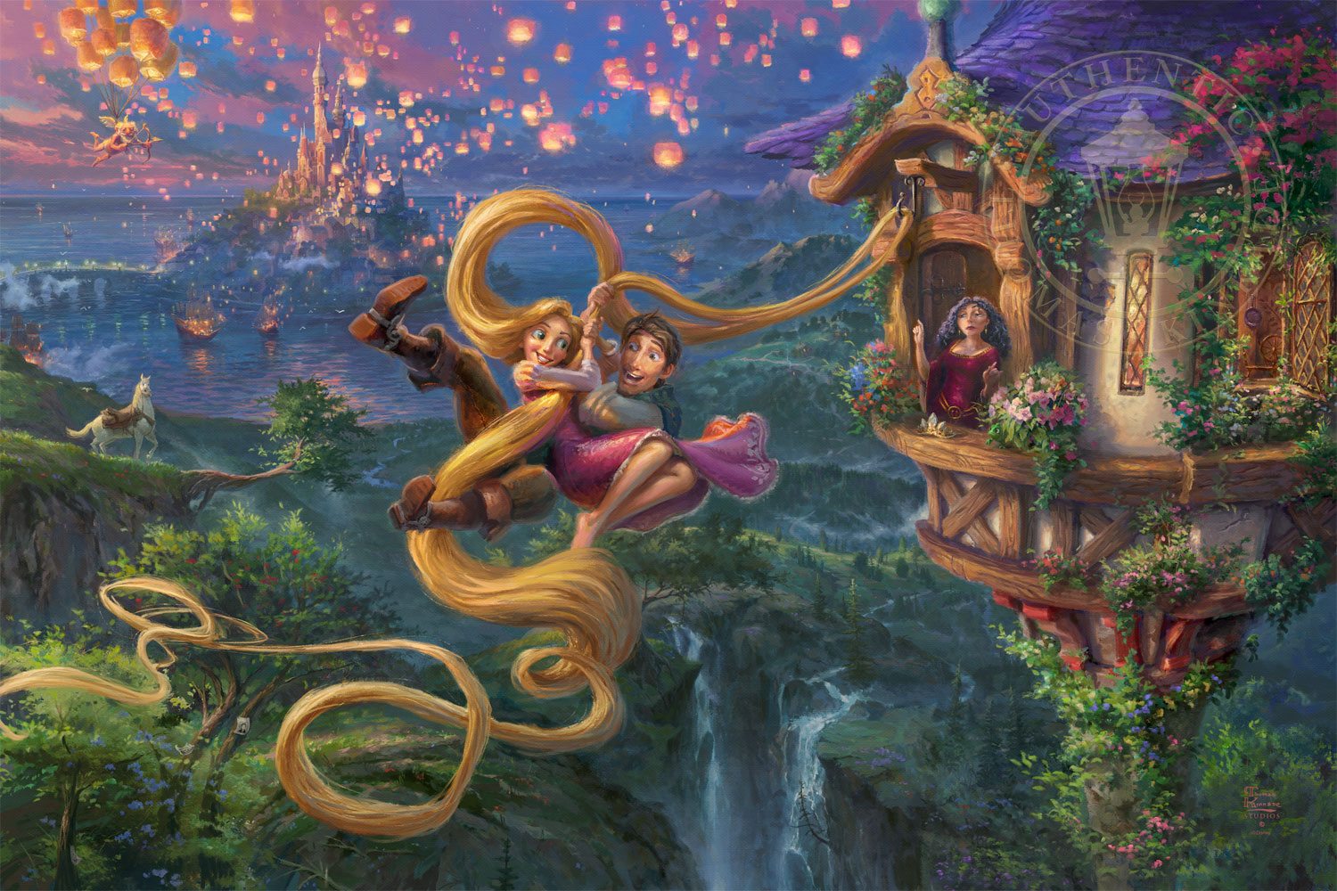 Tangled Up In Love Thomas Kinkade Studios