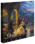 Beauty and the Beast Dancing in the Moonlight – 14″ x 14″