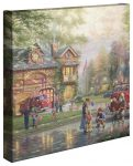Hometown Firehouse – 14″ x 14″
