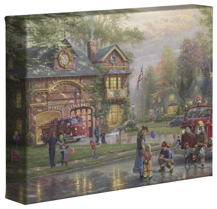 Hometown Firehouse – 8″ x 10″