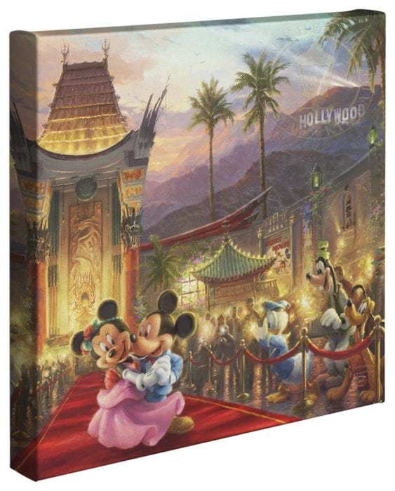 Mickey and Minnie in Hollywood – 14″ x 14″