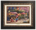Disney Mickey and Minnie – Sweetheart Cafe – Canvas Classics