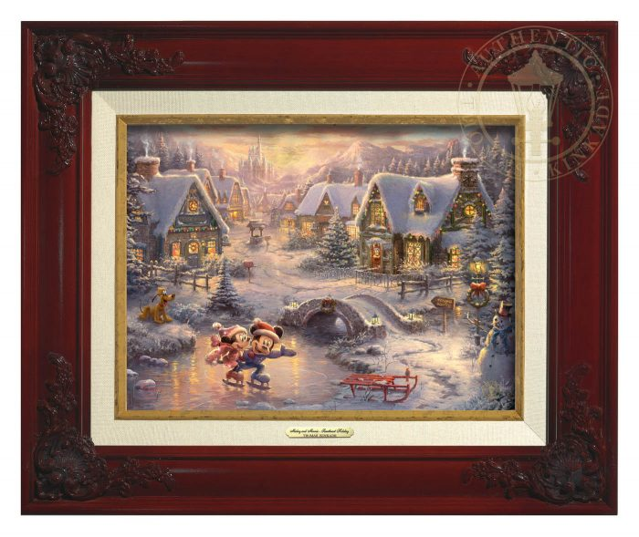 Disney Mickey and Minnie – Sweetheart Holiday – Canvas Classics