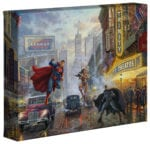 Batman, Superman, Wonder Woman Trinity  – 8″ x 10″ Gallery Wrapped Canvas